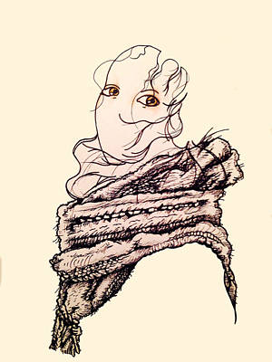 Clothes Clothing Mixed Media - Snow White And The Seven Scarves by Virgil Angeles