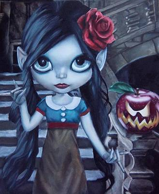 Painting - Snow White by Lori Keilwitz