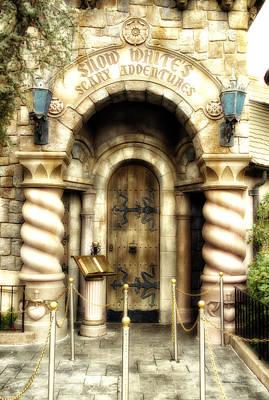 Snow Whites Scary Adventures Fantasyland Disneyland Art Print
