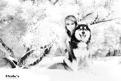 Wolve Photograph - Snow Wolve by Emile Steyn