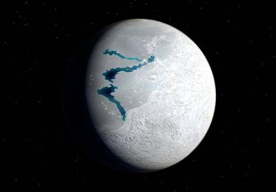 Ice Out Photograph - Snowball Earth by Walter Myers