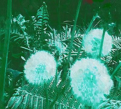 Snowballs In The Garden Art Print by Pepita Selles
