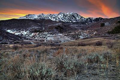 Huntsville Wall Art - Photograph - Snowbasin Fire And Ice by Ryan Smith