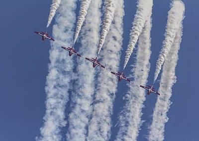 Photograph - Snowbird Aerobatics by Will Bailey