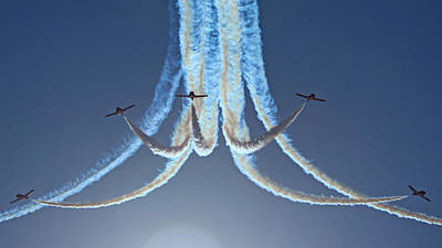 Photograph - Snowbirds In A Dive by Randy Hall