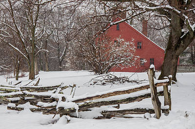 Photograph - Snowbound Home by Jeff Folger