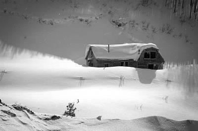 Snowbound Photograph - Snowbound by Ron White