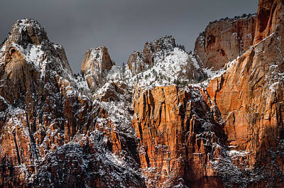 Photograph - Snowcapped by Chuck Jason