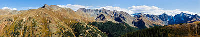 Emery Photograph - Snowcapped Mountain Peaks, San Juan by Panoramic Images