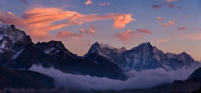 Nepal Scenes Photograph - Snowcapped Mountains, Dudh Kosi by Panoramic Images
