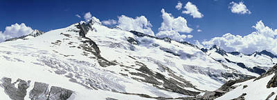 Cold Temperature Photograph - Snowcapped Mountains, Grossvenediger by Panoramic Images