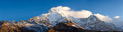 Nepal Scenes Photograph - Snowcapped Mountains, Hiunchuli by Panoramic Images