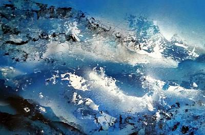 Painting - Snowcaps by Gerry Smith