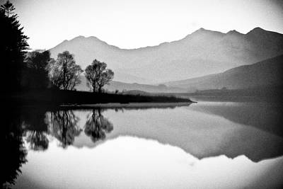 Photograph - Snowdon Reflection by Peter OReilly