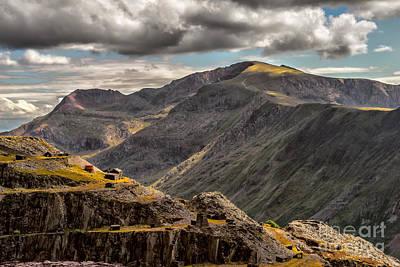 Wales Digital Art - Snowdonia by Adrian Evans