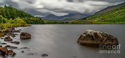 Llynnau Mymbyr Photograph - Snowdonia Lake by Adrian Evans