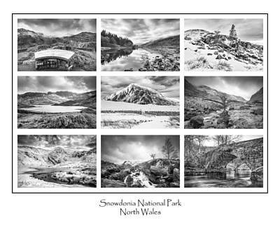 Llynnau Mymbyr Photograph - Snowdonia National Park  by Christine Smart