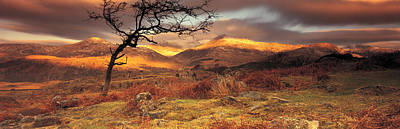 U.k Photograph - Snowdonia National Park, Wales, United by Panoramic Images