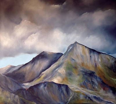 Painting - Snowdonia  by Neil Kinsey Fagan