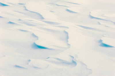 Photograph - Snowdrift Art by Joan Herwig