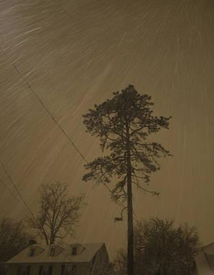 Philadelphia Photograph - Snowfall At Night by Daniela Kriva