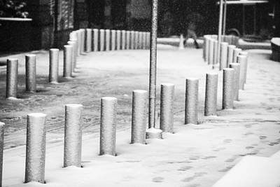 Photograph - Snowfall In Manhattan by Alex Potemkin