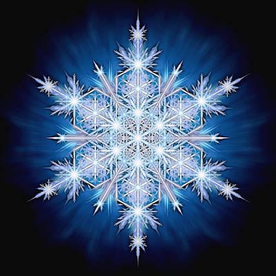 Photograph - Snowflake - 2013 - A by Richard Barnes