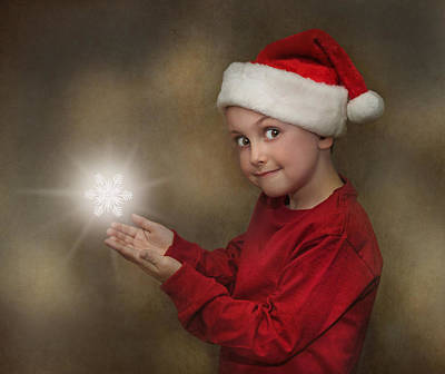 Photograph - Snowflake Elf by Pat Abbott
