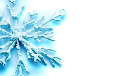 Photograph - Snowflake by Michal Bednarek