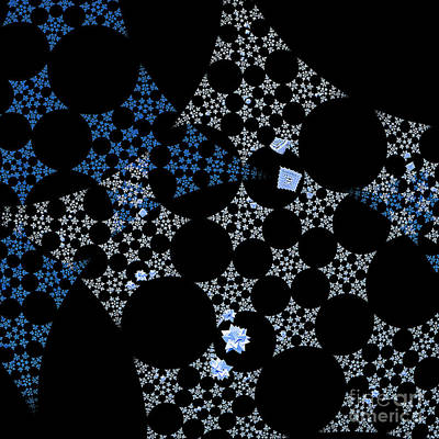 Digital Art - Snowflakes By Jammer by First Star Art