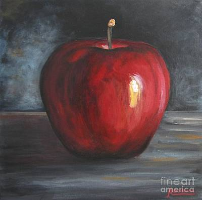 Painting - Snowhite Apple by Italian Art