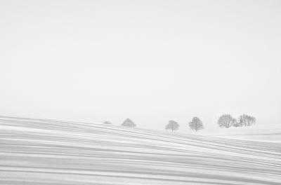 Snowlines Art Print