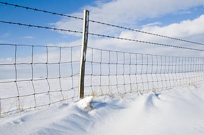 Photograph - Snowlines by Mick House