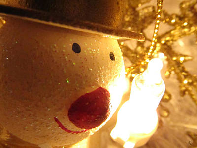 Photograph - Snowman by Kelly Smith