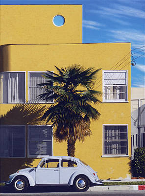 Apartment Painting - Snowtires by Michael Ward