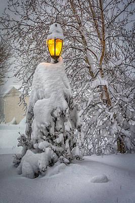Photograph - Snowvember 2014 II by Guy Whiteley