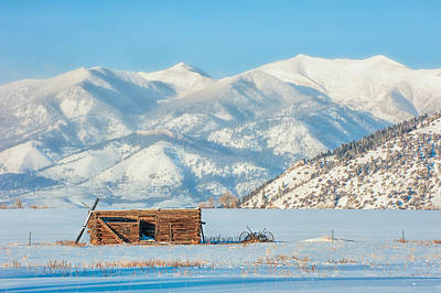 Photograph - Snowy Bridger Mountains by Joan Herwig