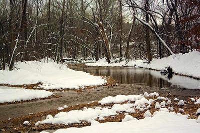 Photograph - Snowy Creek by Scott Sanders