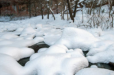 Photograph - Snowy Creek by Tam Ryan