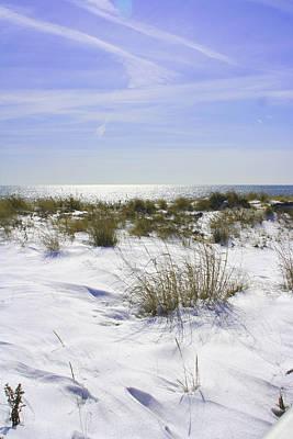 Snowy Dunes Art Print