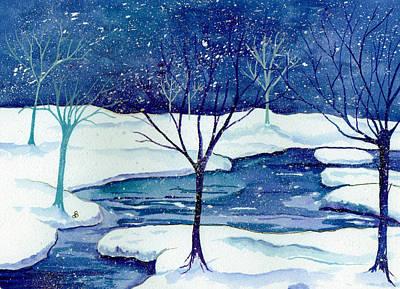 Painting - Snowy Moment by Brenda Owen