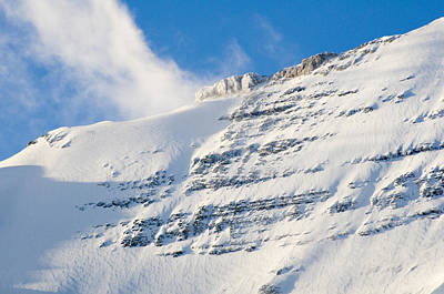 Photograph - Snowy Mountain by Mick House