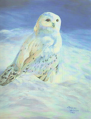 Painting - Snowy Owl by Denise Wagner