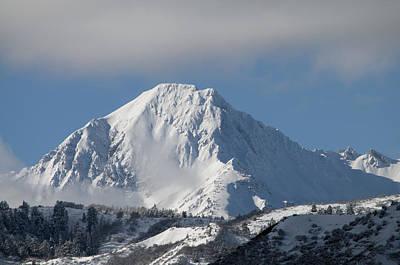 Snowy Peak Art Print