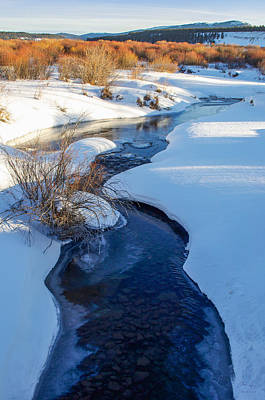Photograph - Snowy River by Aaron Spong