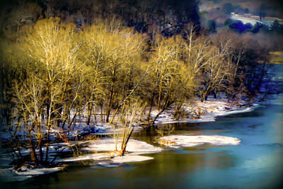 Catfish Photograph - Snowy River by Karen Wiles