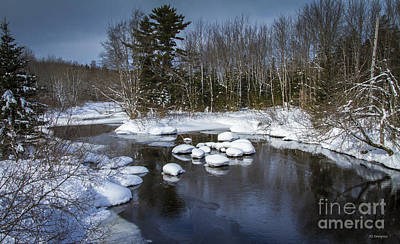 Photograph - Snowy River by Nancy Dempsey