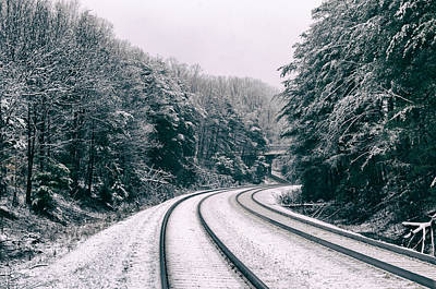 Photograph - Snowy Travel by Michelle Ayn Potter