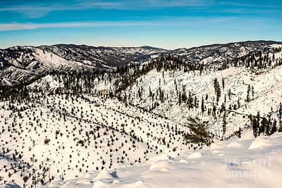 Landsacape Photograph - Snowy View by Robert Bales