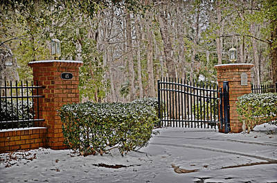 Photograph - Snowy Welcome by Linda Brown